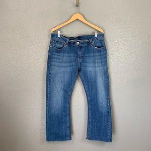Levi's 542 tilted flare jeans 16 medium